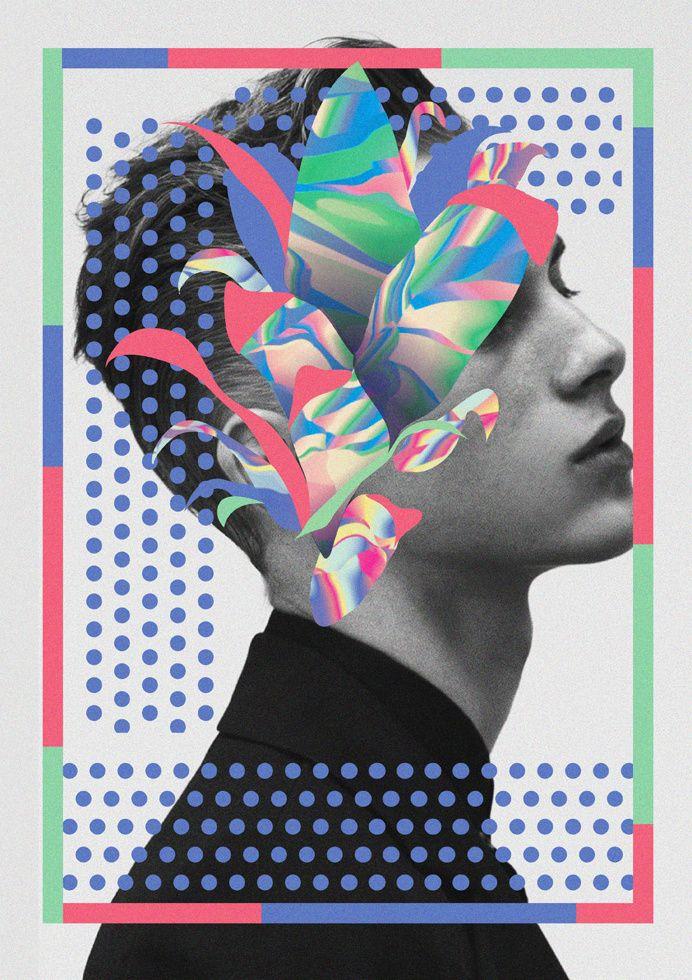 Collage, Alain Vonck in My work