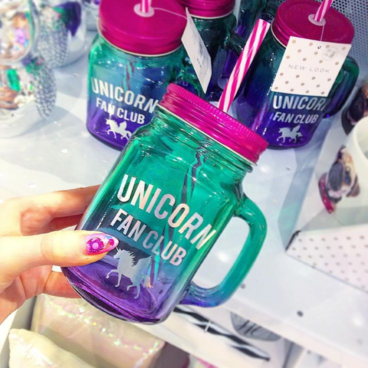 Photo credit: Caitlin McKay (glitterpastelscocktails) • I NEED this unicorn mug from New Look, but it's in the UK and not on their website!
