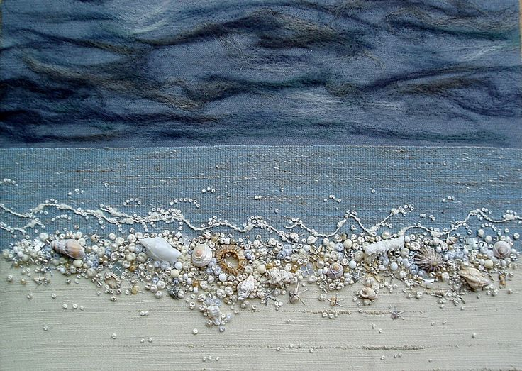 beaded embroidery - Mary Worwood - Contemporary Mix Artists