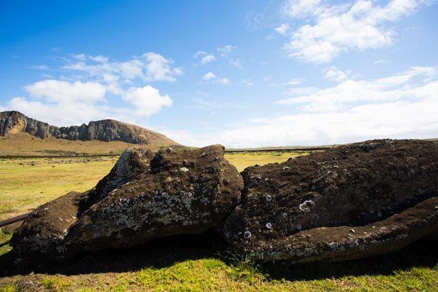 Der #Rapanui Nationalpark auf der #Osterinsel ist #UNESCO Welterbe. Lies hier authentische #reisetipps, wie man die Moai der Osterinsel am besten besuchen kann!