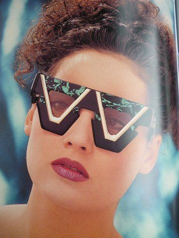 Vintage Cazal Sunglasses Ads, Catalogs and Promo Stuff from the 80s & 90s - Retronaut