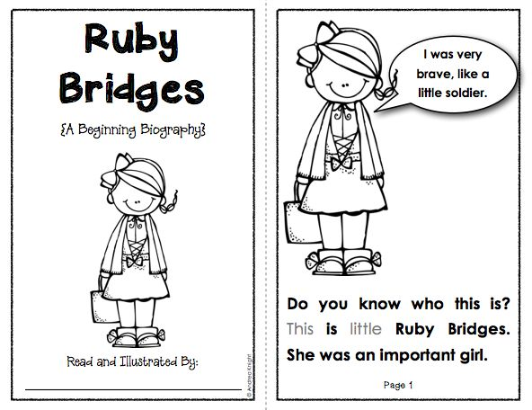 Les 29 meilleures images du tableau ruby bridges sur