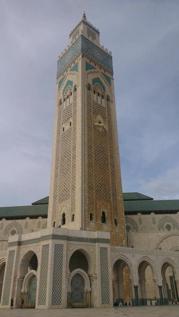 Dünyanın en büyük ikinci camisi olan 2.Muhammed Camii Fas'ın Casablanca şehrinde bulunuyor.