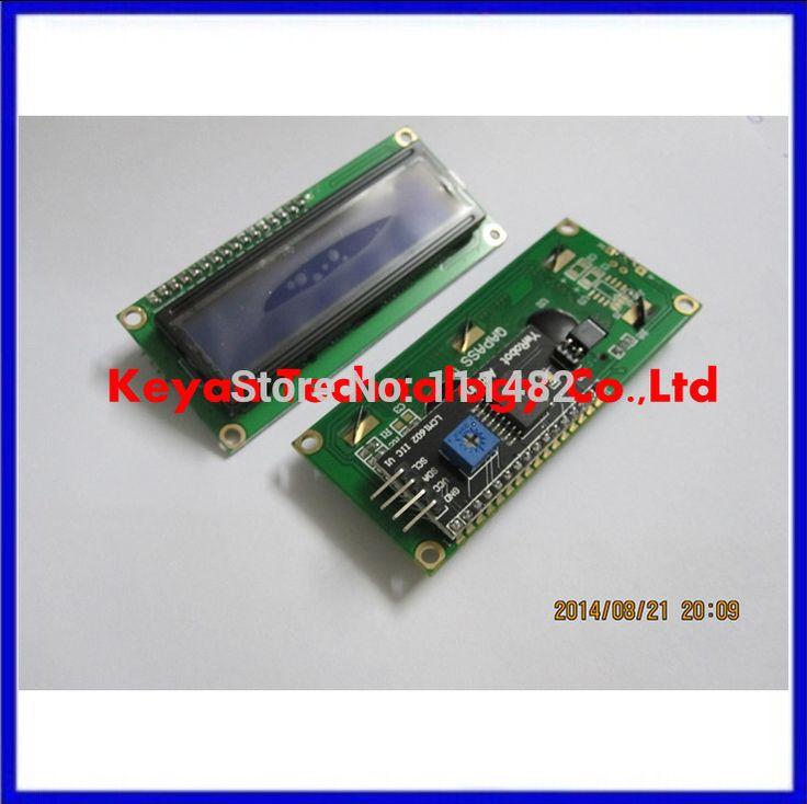 1 قطعة/الوحدة وحدة lcd شاشة زرقاء iic/i2c 1602 lcd