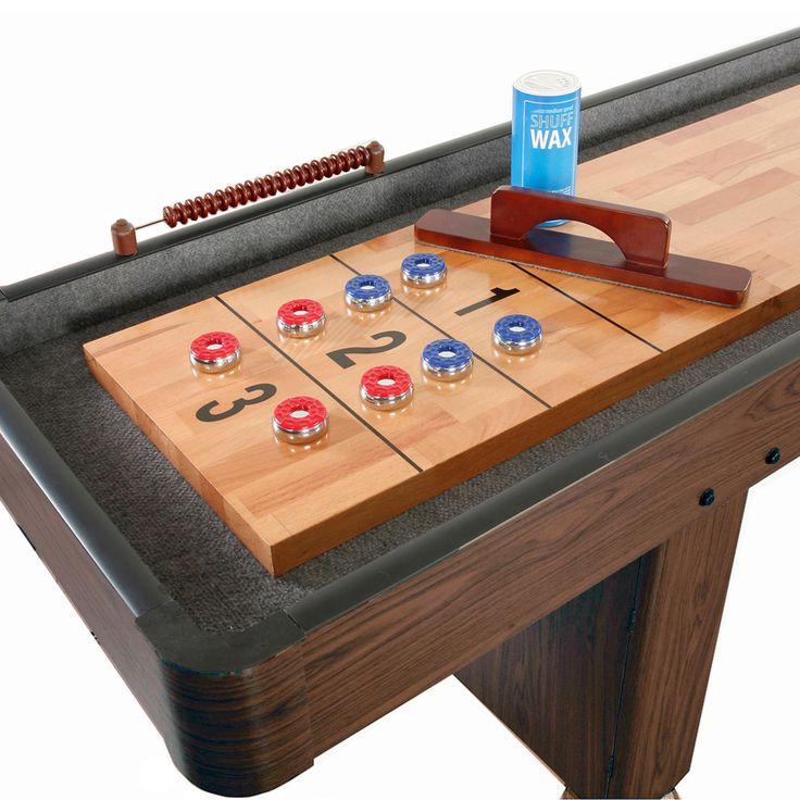 27 Best Shuffleboard Tables Images On Pinterest