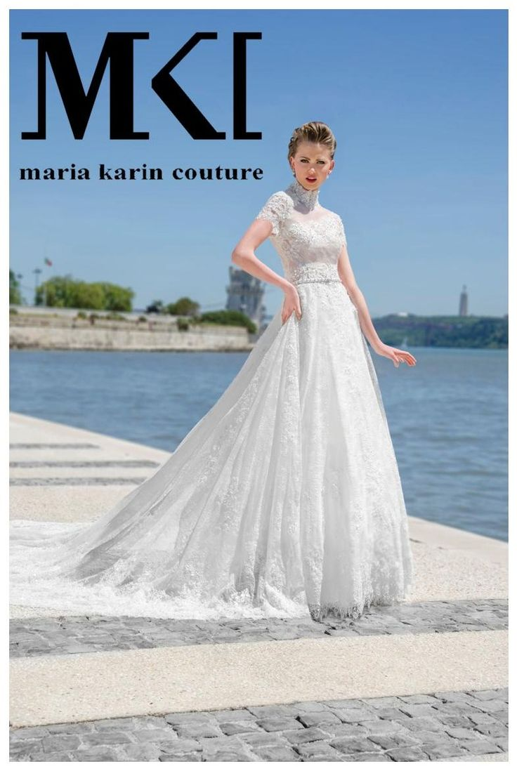 Another gorgeous dress for our amazing brides!  #MariaKarinCouture :D