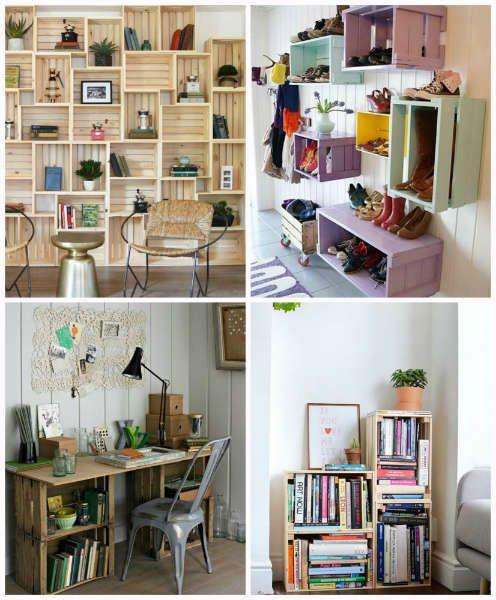 tendencias para vivir sola jacales-h600 Palette Furniture, Beautiful Space, Room Organization, My Room, My Dream Home, Small Spaces, Sweet Home, Indoor, House Design