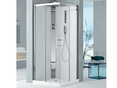 Multifunction shower cabin HOLIDAY CRYSTAL 2 A - NOVELLINI