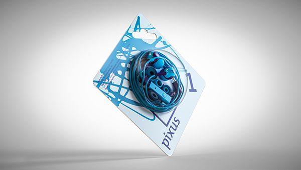 Visualizations for Pixus ear 1 package on Behance