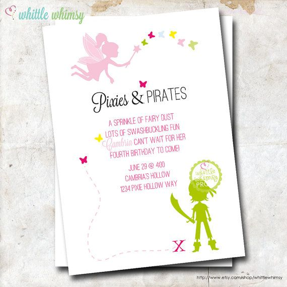 Best 25+ Pirate Birthday Invitations Ideas On Pinterest