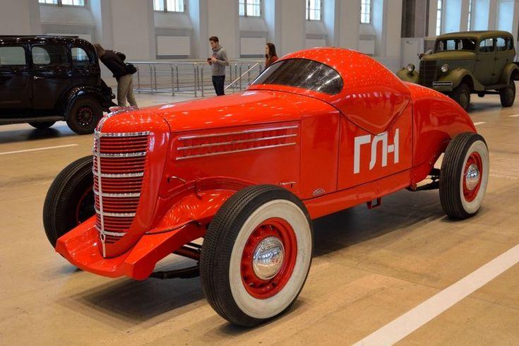 Хочу узнать!: ГАЗ-ГЛ-1 — первый советский гоночный автомобиль (1...