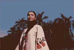 Aime Paine, artista y portavoz de la cultura mapuche