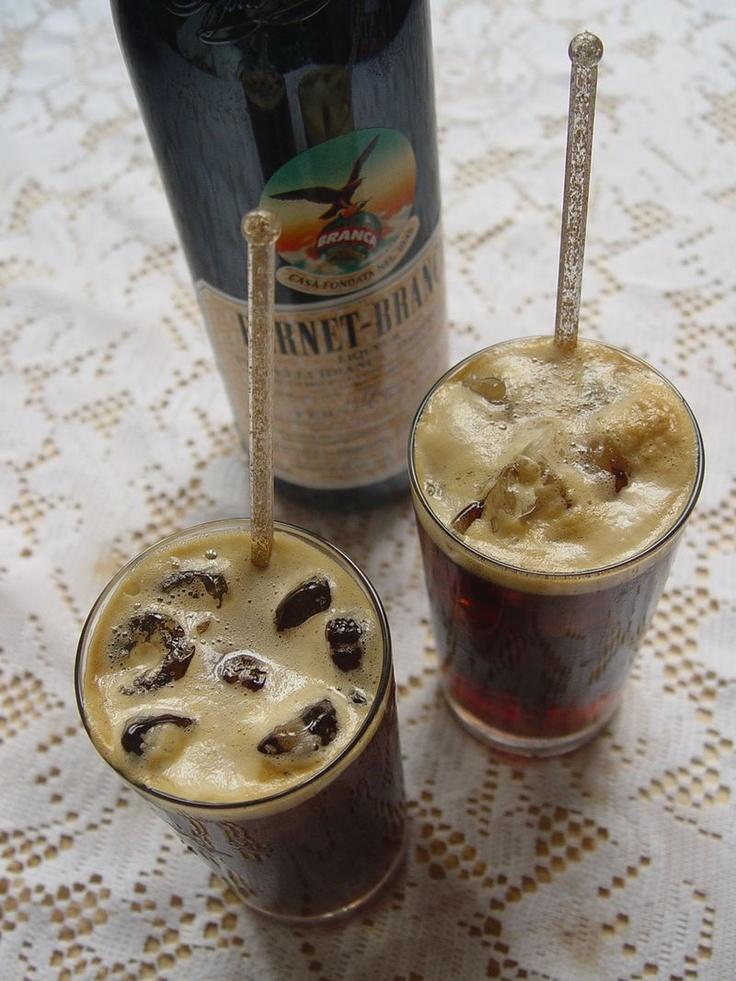 Fernet Branca y Coca Cola
