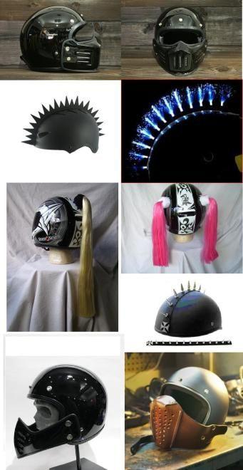Badass Helmet Accessories and Add-ons