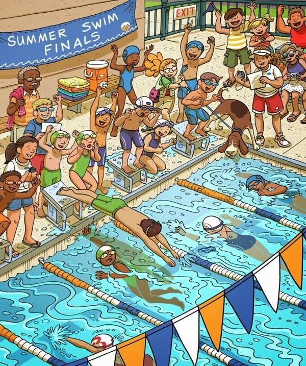 descriptive essay swimming pool Olympic swimming essay - finish, finish, go, and go you just set the new world record every four years lots of people gather around a pool cheering for olympians.
