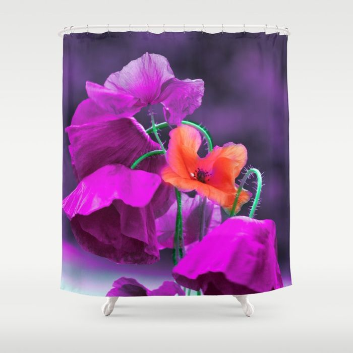 Buy Vintage poppies (7) Shower Curtain by maryberg. Worldwide shipping available at Society6.com. Just one of millions of high quality products available.