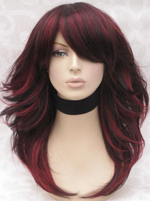 Red highlights for black hair pictures the best black hair 2017 light brown hair with red highlights hairstyles blonde pmusecretfo Images