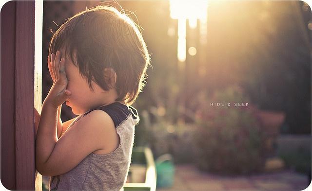 adorableInspiration, Childhood Memories, Children, Things, Kids, Plays Hiding, Baby Photos, Photography, Seek