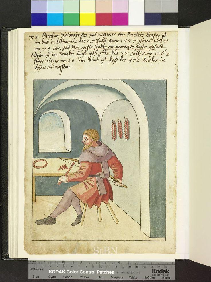 More paternosters  1563 Die Hausbücher der Nürnberger Zwölfbrüderstiftungen