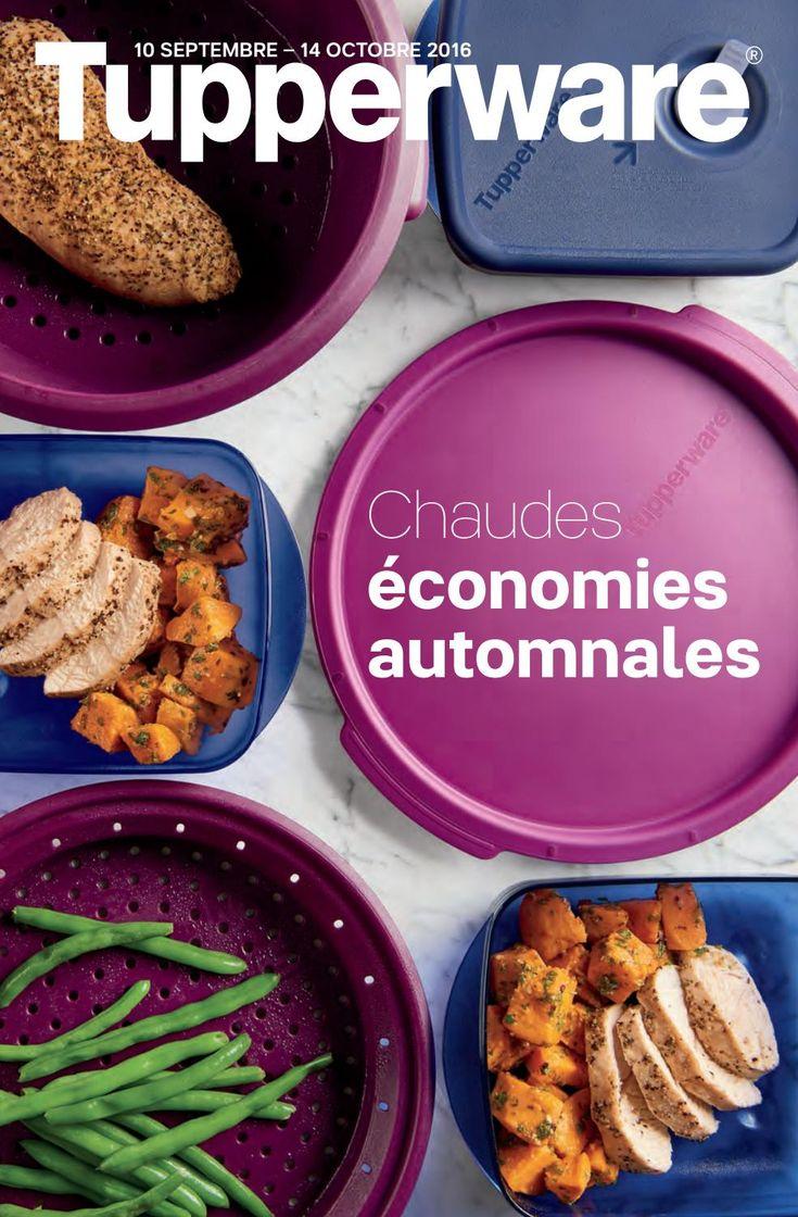 Brochure de promotions Tupperware mi-septembre 2016  Profitez de super économies…