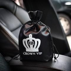 It is tough to find cool accessories for cars, and it is even tougher to find cool trash cans for cars. You don't have to look anymore though, because this car trash can is super cool and chic. The crown and the rhinestones make it girly, but the black and silver keep it modern and cool. You can also use this as a bucket or container if you don't want to use it as a trashcan. We like to put a few cold water bottles in it for long road trips with our friends, and because these leather car…