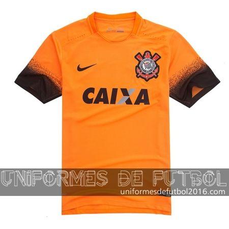 Venta de Jersey tercera para uniforme del Tailandia Corinthians 2016