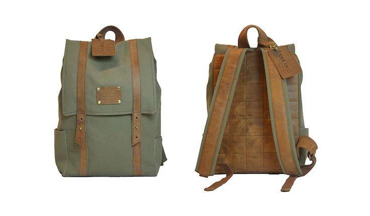 MONOQI | Omybag June Canvas Backpack 199,-