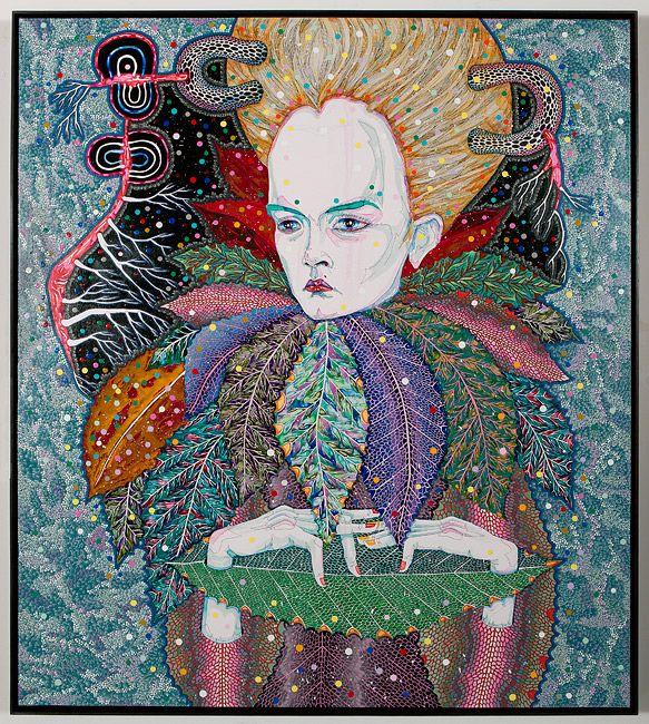 Beautiful work by talented Del Kathryn Barton