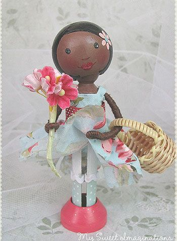 76 best ♥ Clothespin dolls ♥ images on Pinterest | Clothes ...