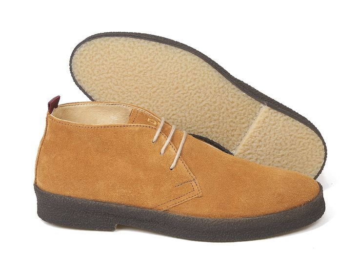 'Chukka' boot  Suede leather