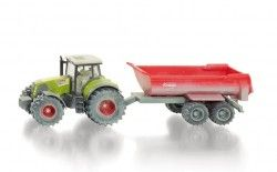 SIKU Super 1:50 - Tractor with Tipping Trailer 3542 Shop Online - iQToys.co.nz Quaid