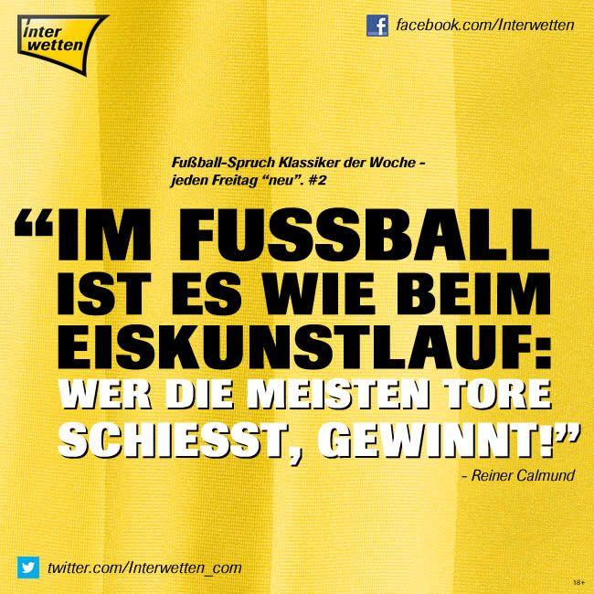 Fussball Sprüche Klassiker