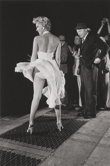 """Sexy Marilyn! Divina por siempre, esta escena de la película""""La Tentación vive arriba"""" jamás será superada."""