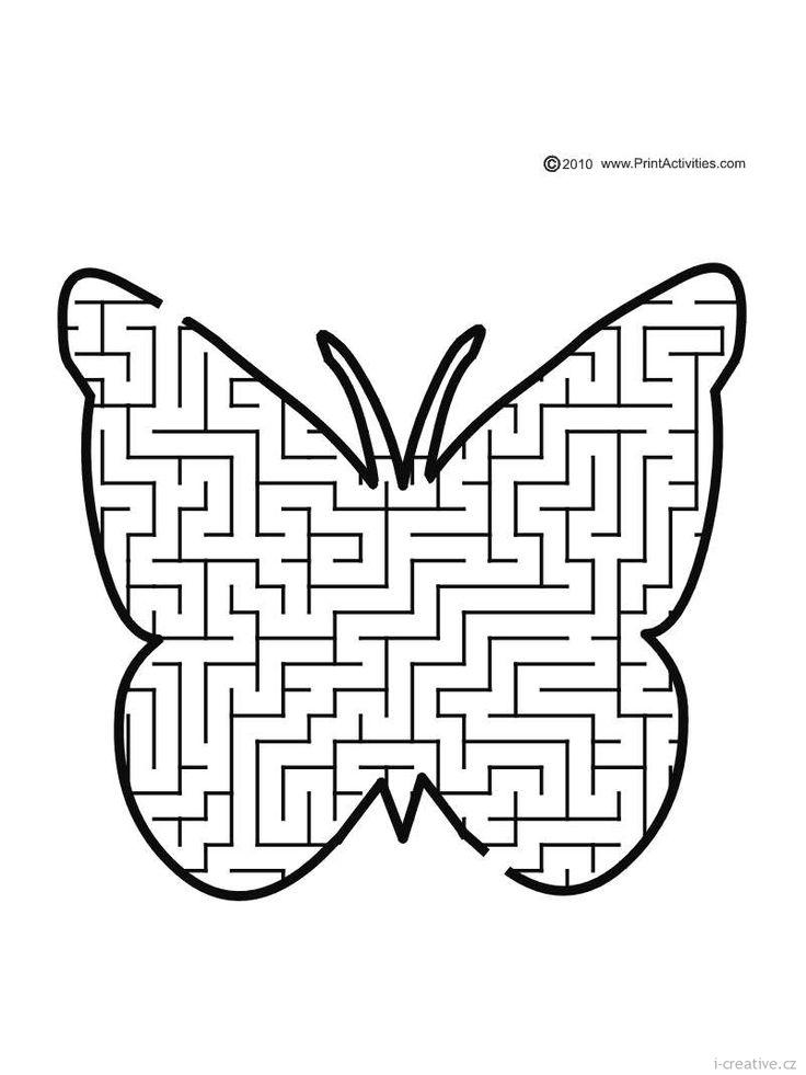 Jarní pracovní a grafomotorické listy | i-creative.cz - Kreativní online magazín a omalovánky k vytisknutí