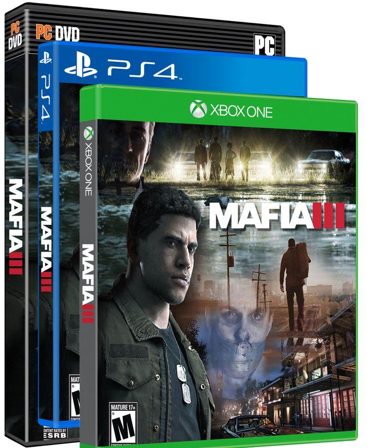 Mafia 3 xboxone ps4 xbox360
