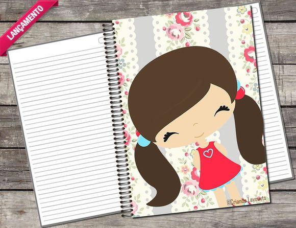 Caderno Personalizado 96fl