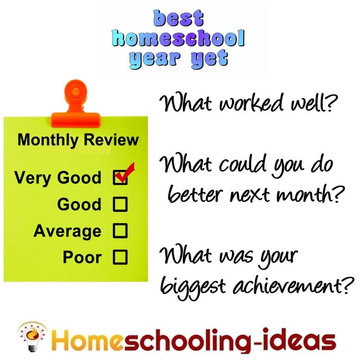 Best Homeschool Year Yet - Monthly Reivew