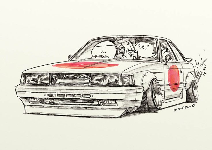 Initial D Cartoon Characters : Best domo jdm initial d images on pinterest