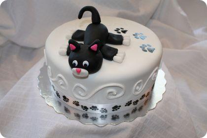 Tortas pasteles forma de gato1