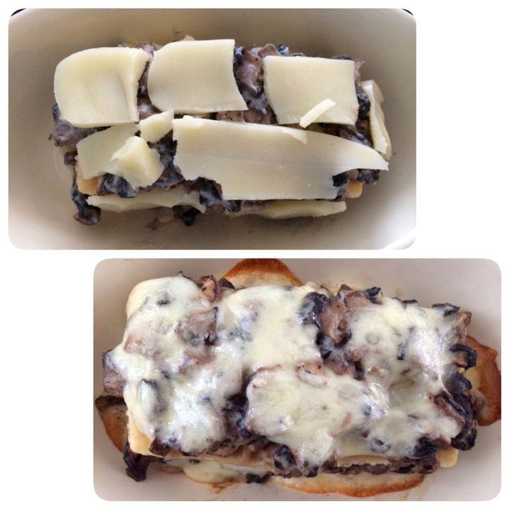 Cohen Diet: Mushroom Lasagna #cohenlifestyle #lynskitchen