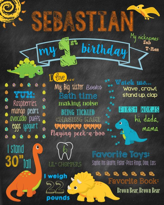 1st birthday sign in book