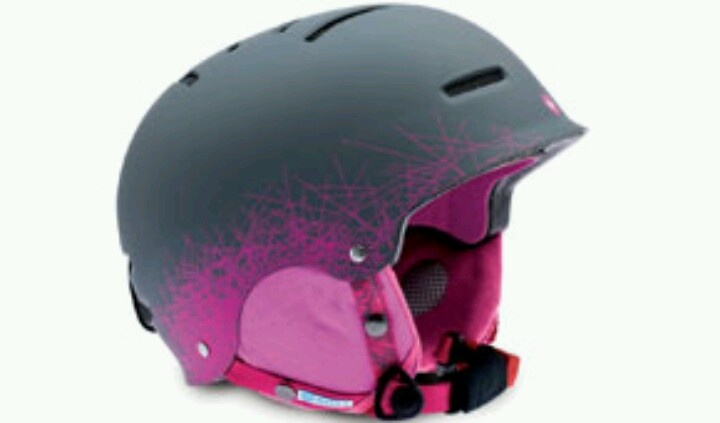 New ski helmet