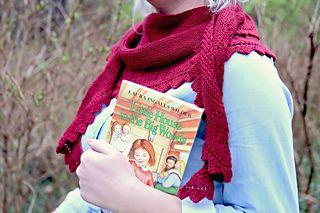 Pioneer Girl Shawl : Laura Ingalls inspired
