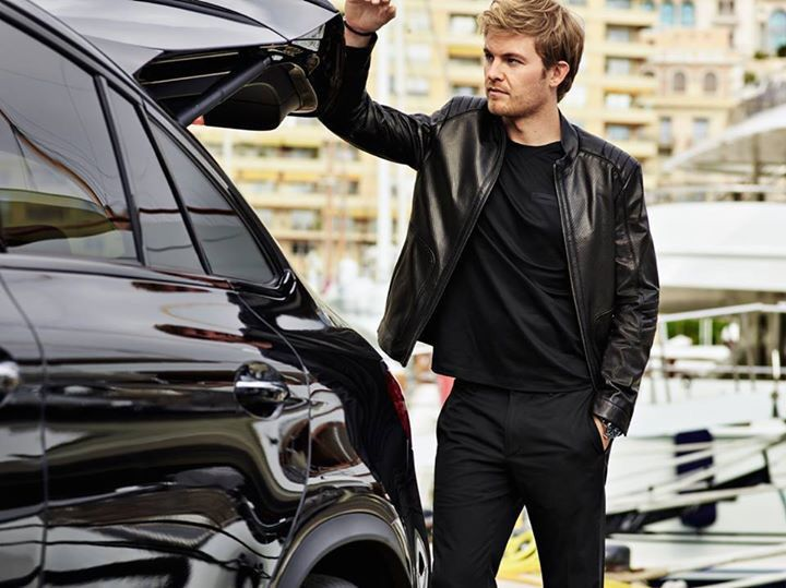 Off Track w/ #F1 #AMG Pilot Nico Rosberg and Hugo Boss