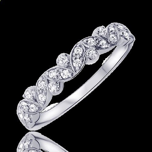 Marriage Rings - Alliance en or blanc et diamants, modèle Vania - Zeina Alliances - Marriage rings are the jewel in common between him and you, it is the alliance of a long future and an age-old custom. Think about it, this ring will age along with you so why not choose the best, most beautiful and durable?