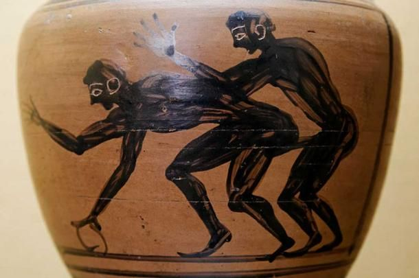 """The Greeks liked their boys young.  It was as adolescents that males were found attractive by other men. A boy's sexual allure began to diminish the moment he started to grow facial and body hair and this short window of attractiveness perhaps explains the ecstatic reception that poster-boy youths like Charmides received. According to Plato, everyone at the wrestling school gazes at Charmides """"as if he were a statue"""" and Socrates himself """"catches fire"""" when he sees him..."""