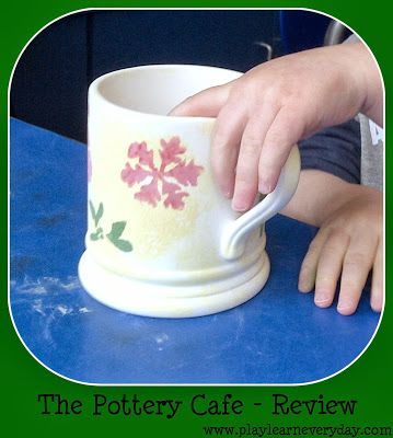Play & Learn Everyday: Pottery Cafe - Review
