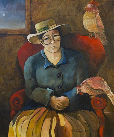 Colección Privada  Pintor contemporáneo Rodrigo Calderón Martínez