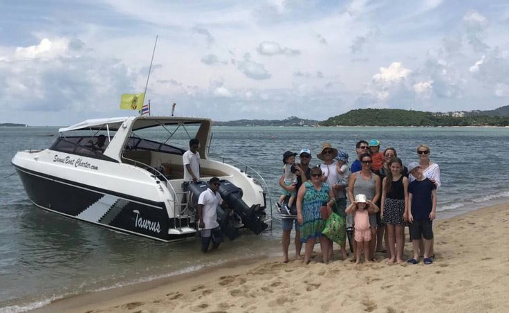 14. April - Guests on their way to Koh Phangan by private Charter