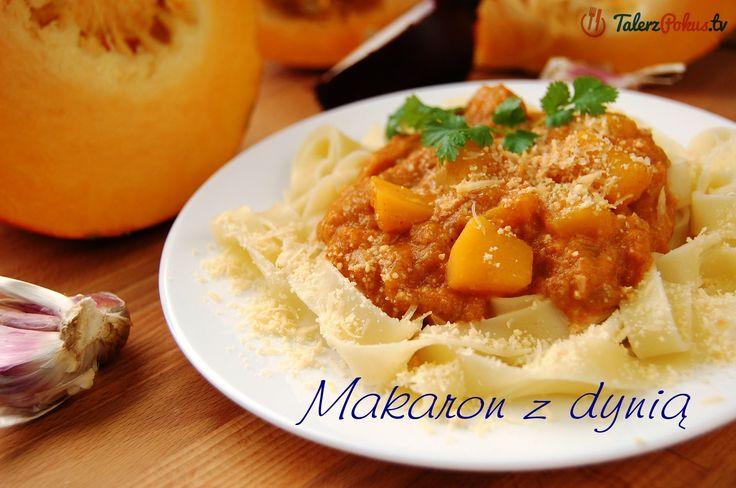 Makaron z dynią - TalerzPokus.tv